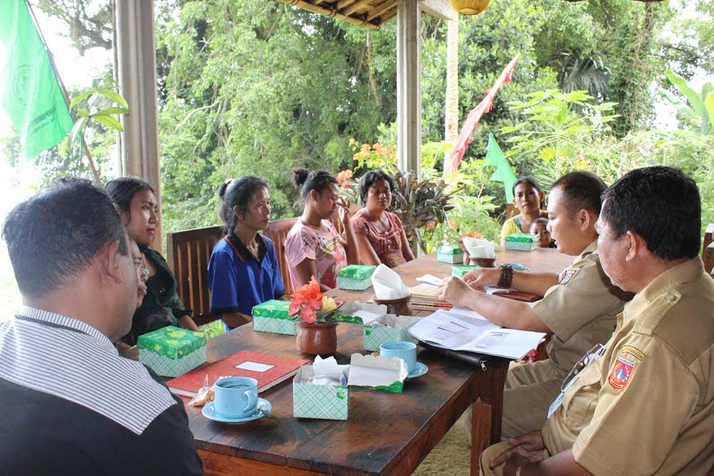 Kegiatan Pembinaan Kelompok Oleh Bidang Usaha Mikro, Dinas Koperasi, Usaha Mikro, Kecil dan Menengah Kabupaten Karangasem